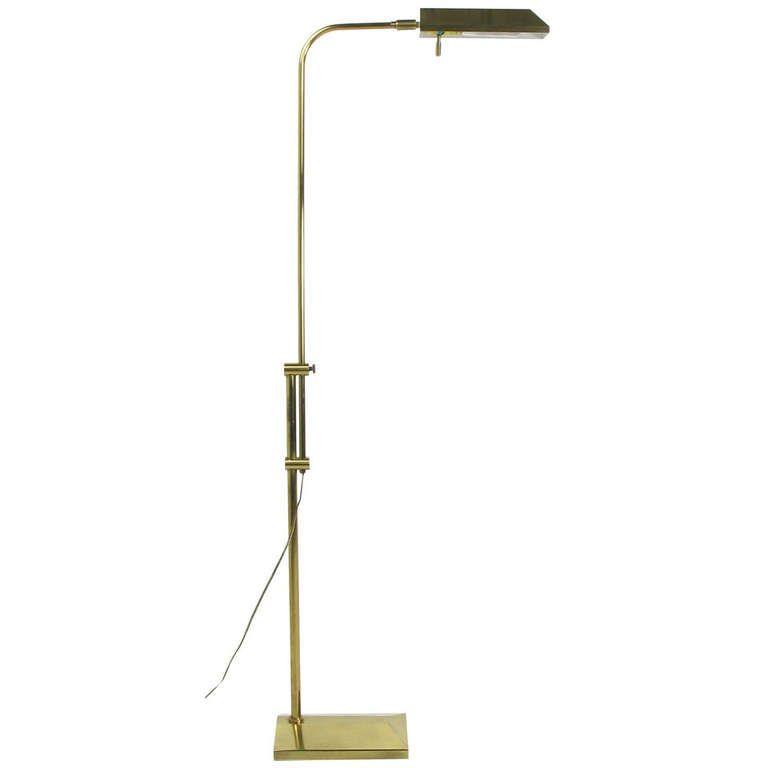Brass pharmacy lamp by chapman modern floor lampspharmacyapartment