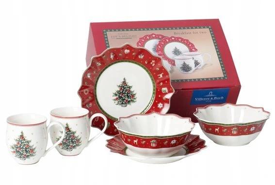 Villeroy Boch Toy S Delight Zestaw Dla Dwojga 6el 8756536544 Allegro Pl Christmas Tableware Villeroy Boch Festival Decorations