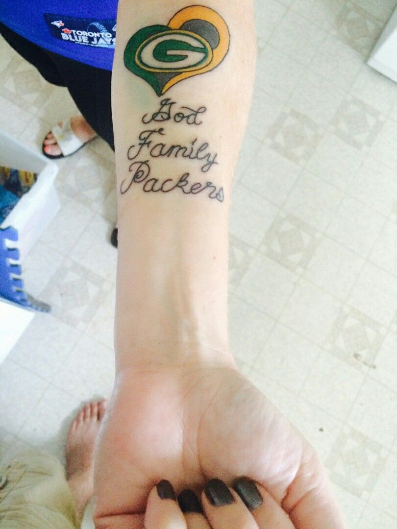 Packer Tattoo Green Bay Packers Tattoo Tattoos Packers