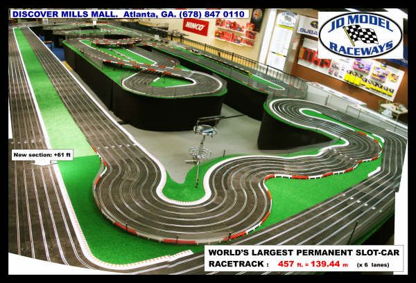 JD Model Raceway (Worlds Largest Track)