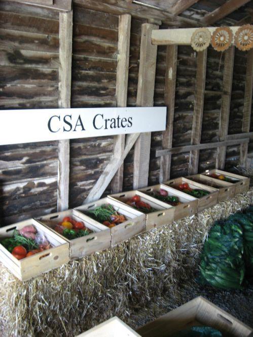 Seasons Bounty Farm's CSA crates