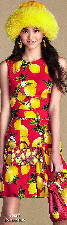Dolce Gabbana Summer 2016 Orange County Collection Women\'s Fashion ...