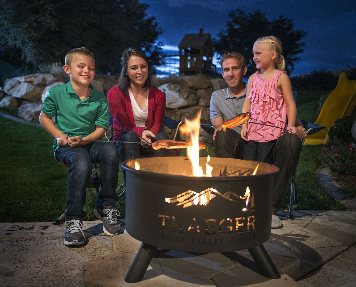 Traeger Essentials: Traeger's Outdoor Fire pit - Traeger Essentials:  Traeger's Outdoor Fire Pit Gardening - Traeger Fire Pit Outdoor Goods