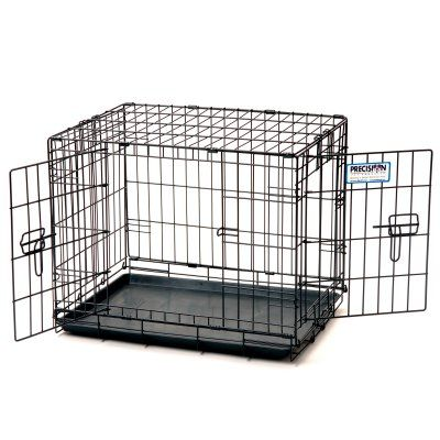 Precision Pet Products ProValu Double Door Dog Crate with Free ...