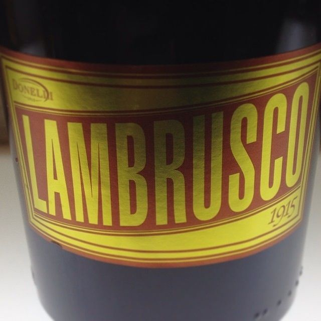 Lambrusco bottle | #foodiaryER - @Chris Osburn in EmiliaRomagna