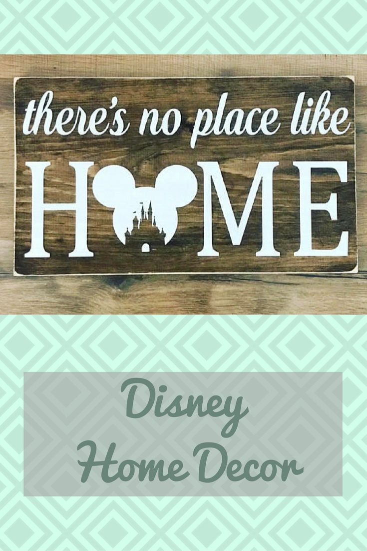 No Place Like Home Disney Sign Decor In This House We Do Foyer Ad Gift Honedecor