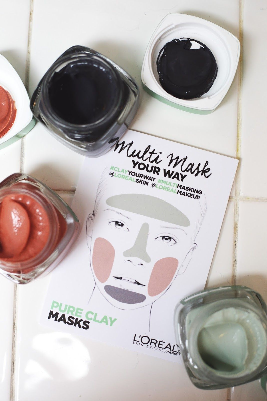 Ms Rosie Bea: NEW L'oreal Pure Clay Masks | Pure clay mask ...