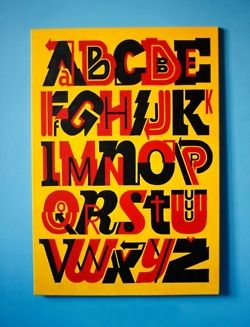 ABC Street Fonts Book by Sicksystems.