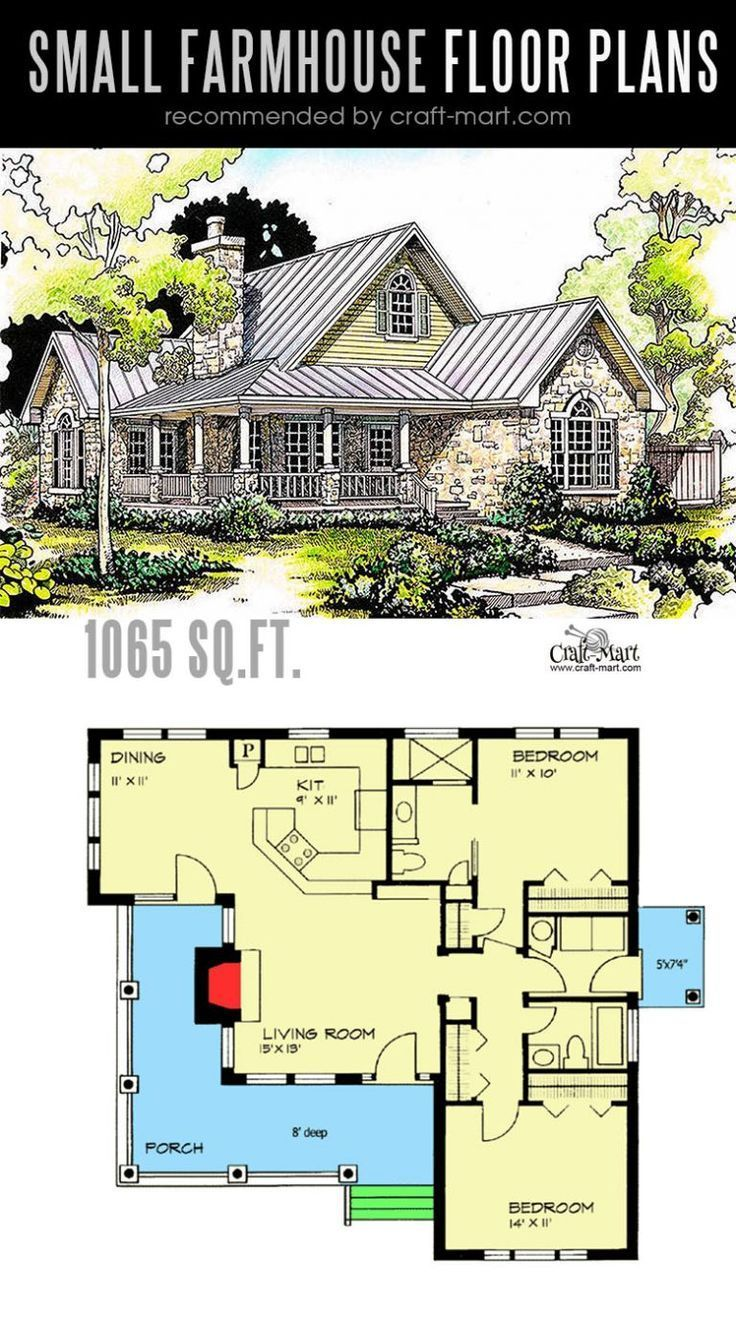 Photo of Small farmhouse plans for building a home of your dreams – Craft-Mart