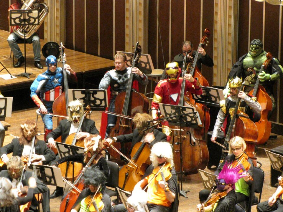 The Cleveland Orchestra went all out for Halloween | The