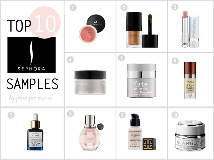 BEST SAMPLES TO GET FROM SEPHORA