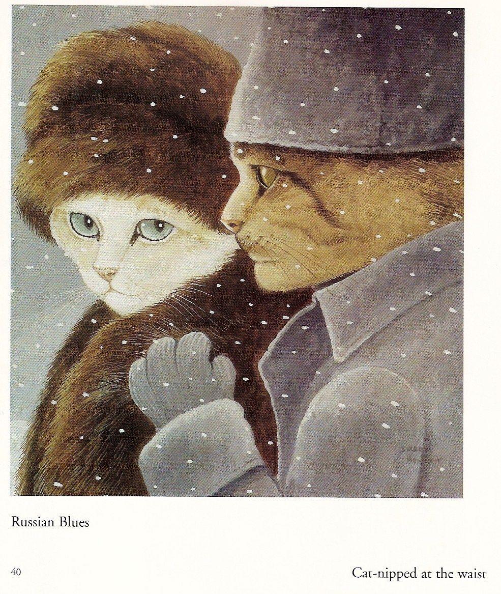 Dr. Catvago...Movie Cats by Susan Herbert: ana_lee