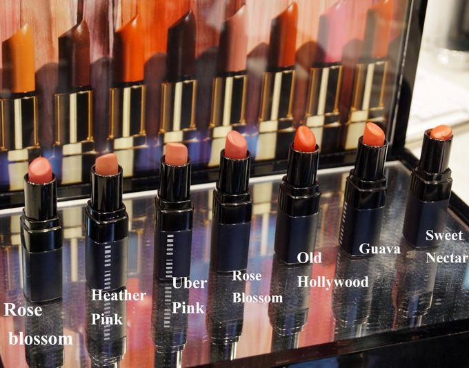 Best Bobbi Brown Lipsticks for Indian Skin : Swatches ...