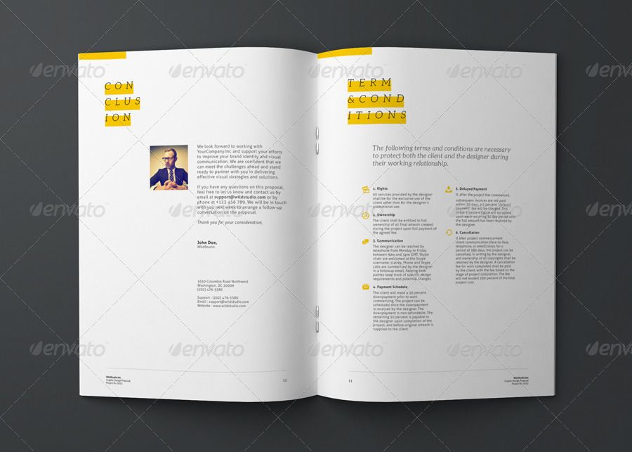 Graphic Design Project Proposal Template Proposal Templates