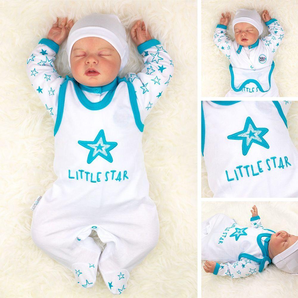 Baby Sweets Jungen Set Hose und Shirt blau Little Prince
