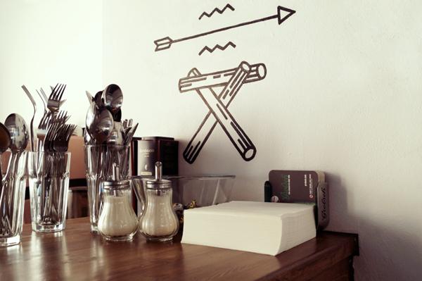 Syndicate Shop & Bar by Ooli Mos, via Behance