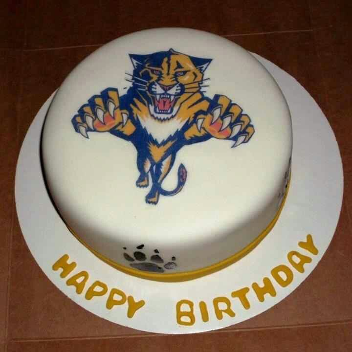 Florida Panthers Cake Sports Cakes Pinterest Cake Sport