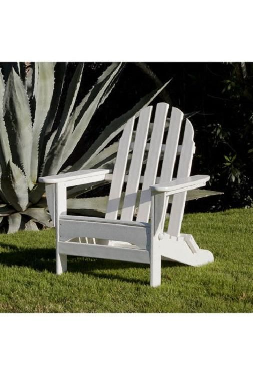 This Folding Adirondack Doesn T Just Look Good It S Eco