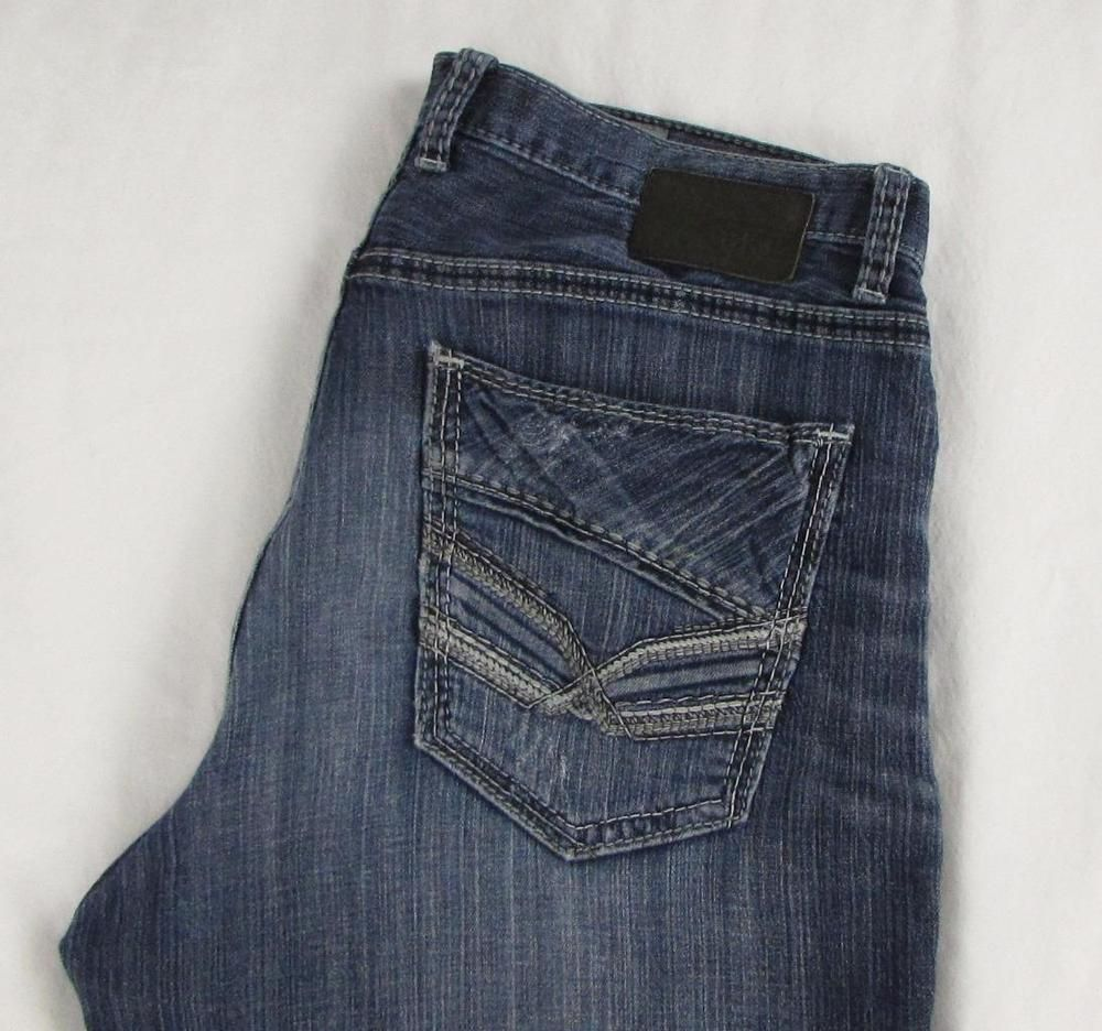Bke buckle ryan straight leg jeans relaxed fit mid rise