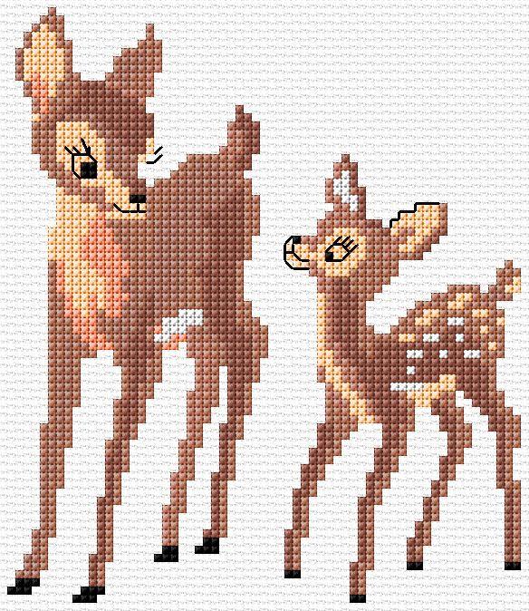 Deer 1|8|722 #stitchdisney