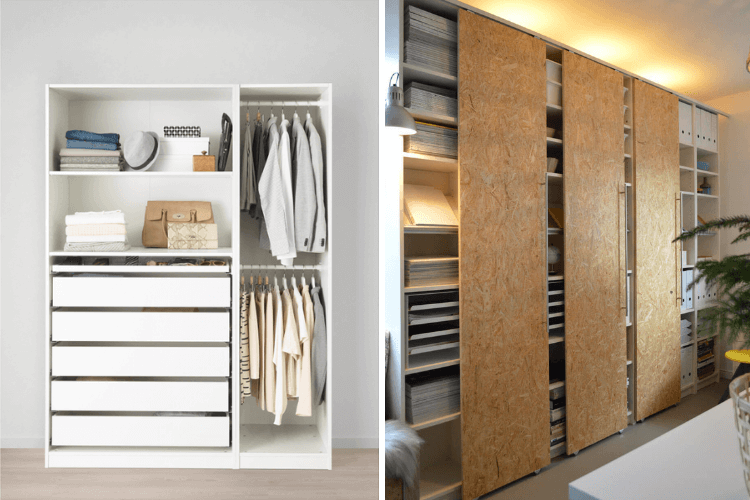Hackers Help How To Make Sliding Closet Doors For Pax Ikea