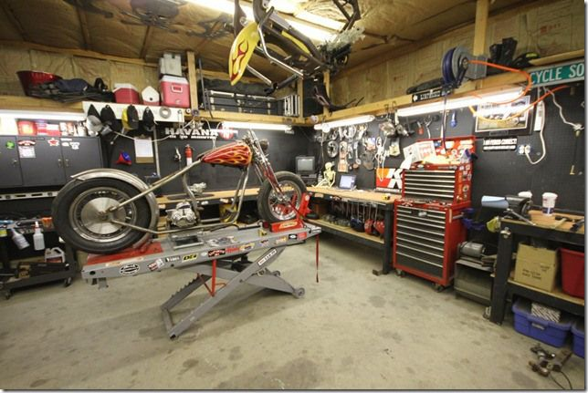 Attention garage builders home shop guys and shade tree for Home mechanic garage layout ideas