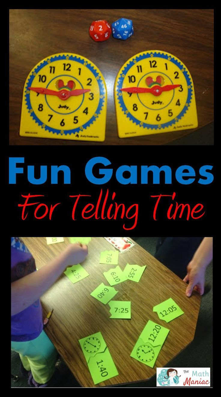 I love teaching kids how to tell time! Step into my classroom and ...
