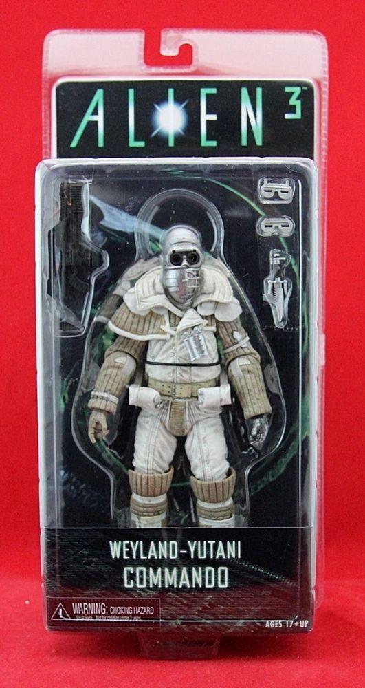 "Weyland-Yutani Commando Alien 3 7/"" Action Figure"