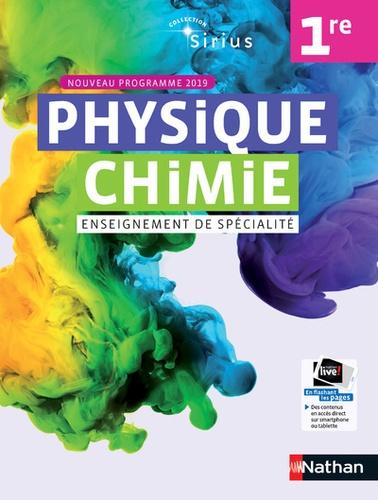 Physique Chimie 1re Sirius Enseignement De Specialite Livre De L Eleve Edition 2019 Nathan Physique Chimie Chimie Nouveaux Programmes