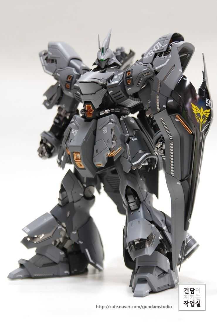 [MG] SAZABI Ver. Ka grey coloring by Smong guitar - Master modelers' community Signaturedition.com