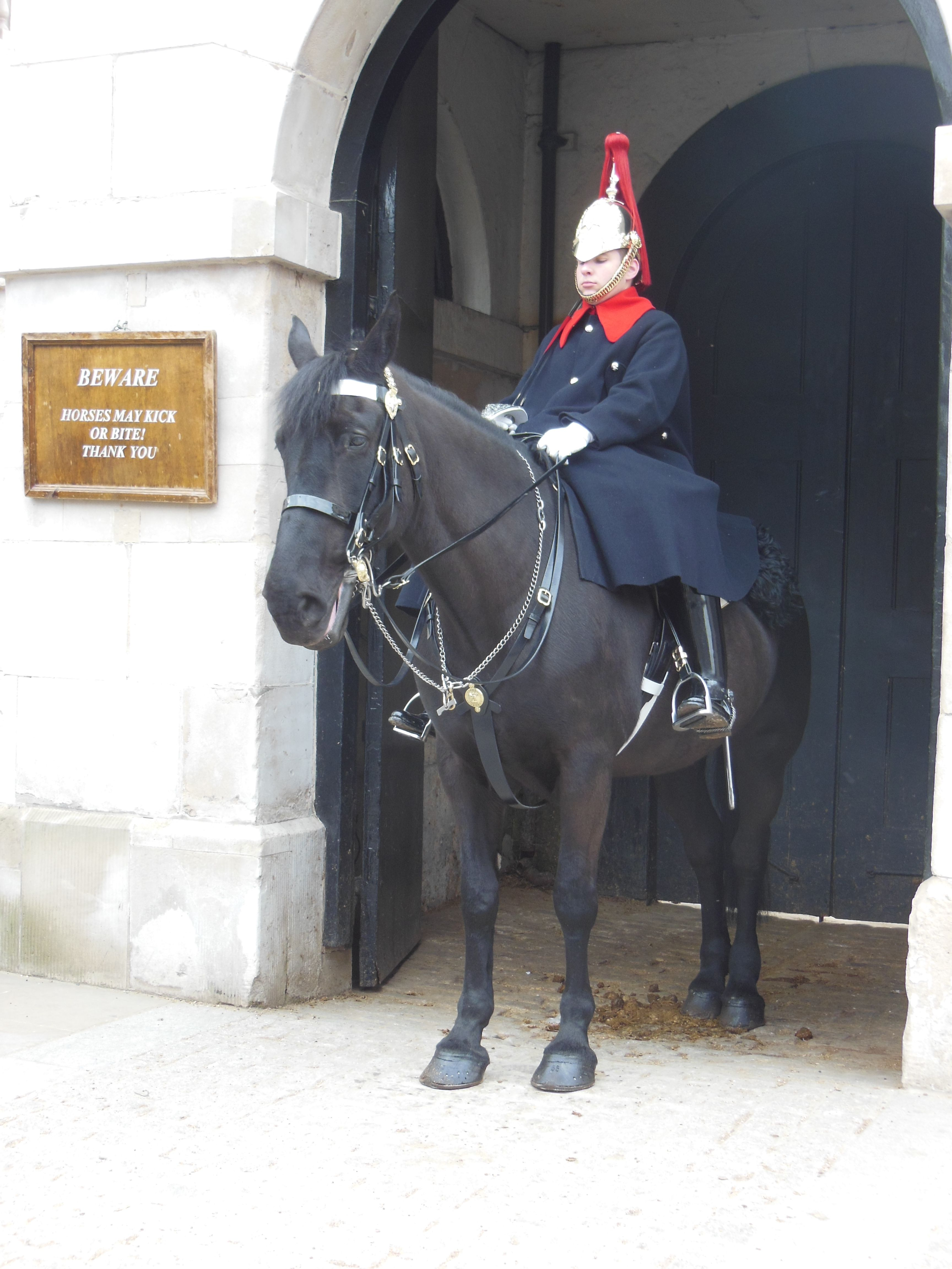 the horse guards in London