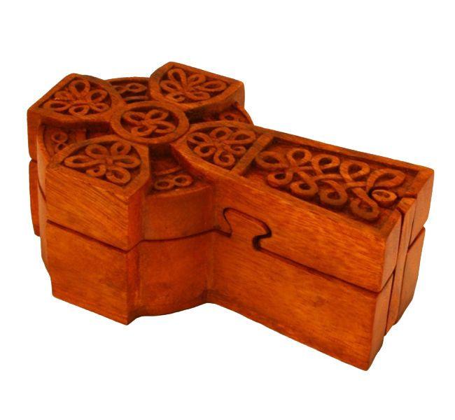awesome Jewellery Case Magic Box Celtic Celtic Cross Jewelry box