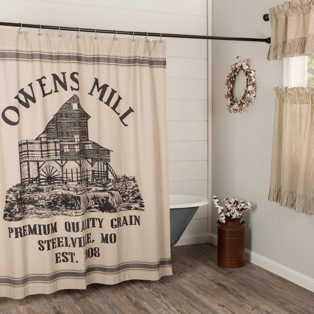 Owens Mill Shower Curtain Curtains Designer Shower Curtains