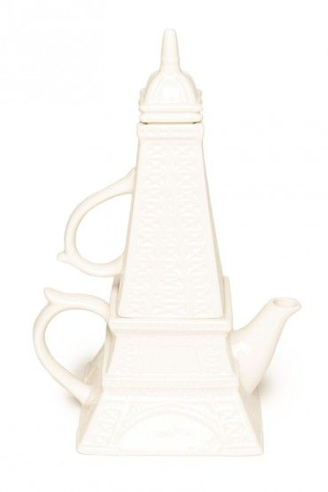 Eiffel Tower Tea Set For One