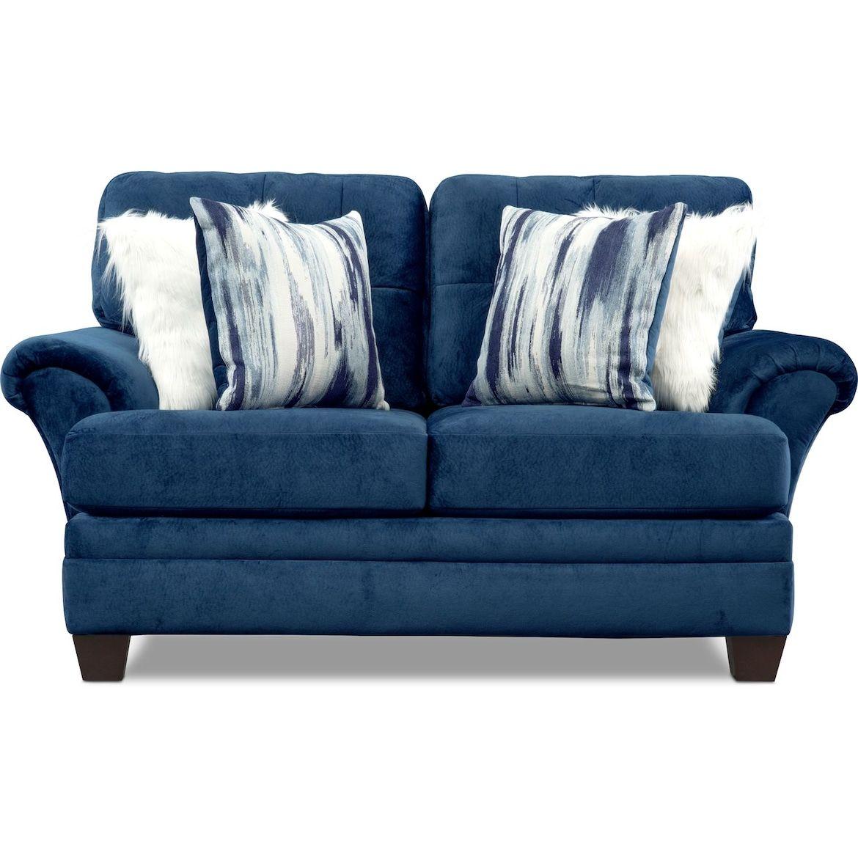 Cordelle Sofa Loveseat And Ottoman Value City Furniture And Mattresses Value City Furniture Furniture Love Seat