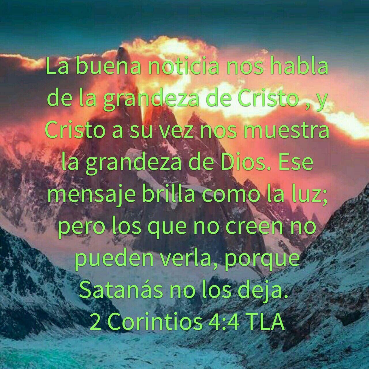 2 Corintios 4:4 | Bienaventurados | Pinterest