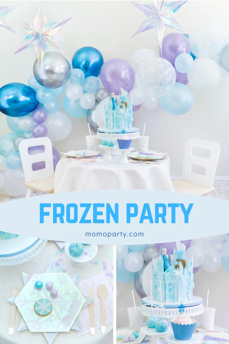 Girls Frozen Party Decoration Ideas