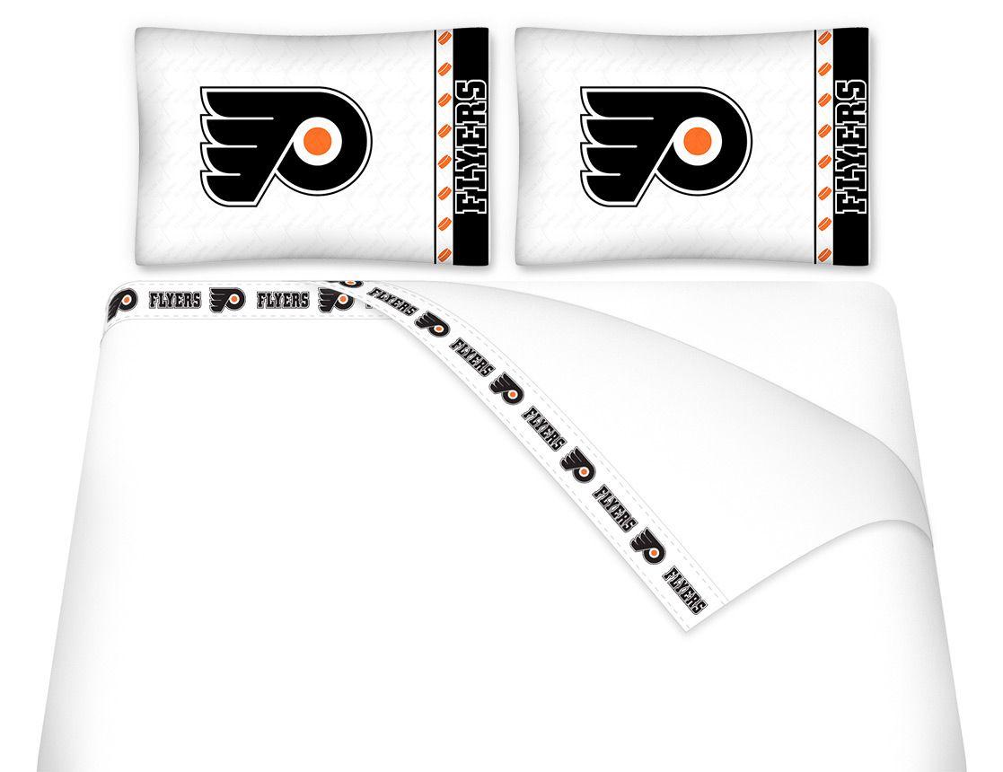 Philadelphia Flyers Bedroom Philadelphia Flyers Nhl Sidelines Room Comforter And Sheet Set