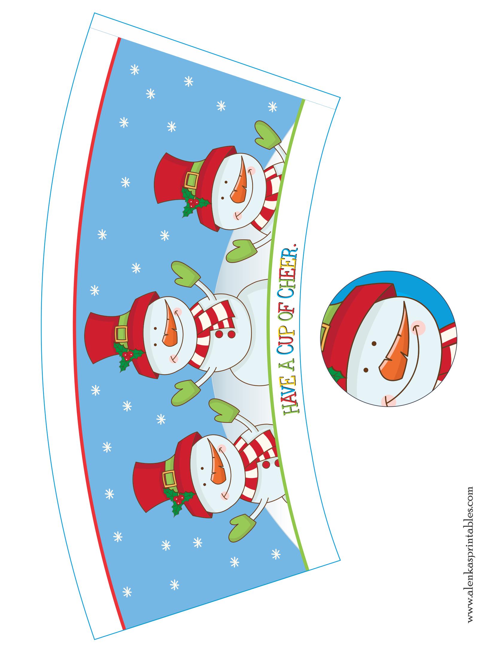 25 Days Of Christmas By Alenka S Printalbes 25 Days Of Christmas Xmas Printables Christmas