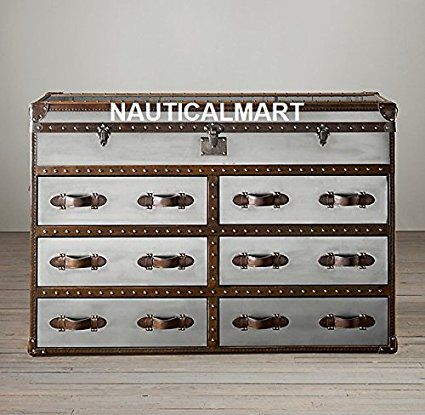 Mayfair Steamer Trunk Double Chest By Nauticalmart