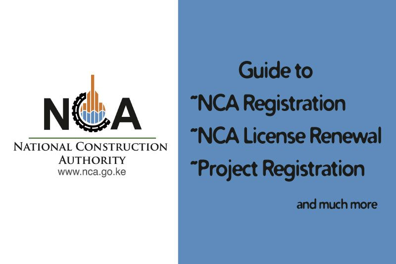 Nca Registration And License Renewal Guide For Contractors Financial Documents Renew Registration