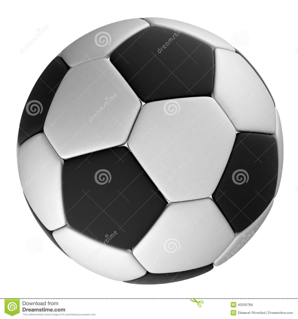 White Soccer Ball With Black Dots Isolated Stock Photo Illustration Of Symbol Black 40590784 In 2020 Soccer Ball Black Dots Soccer