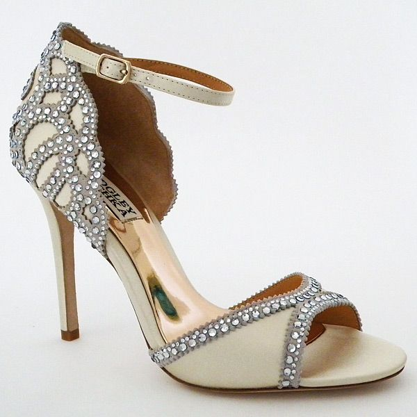 Check Out The Deal On Badgley Mischka Roxy, Ivory Wedding Shoes At Perfect  Details
