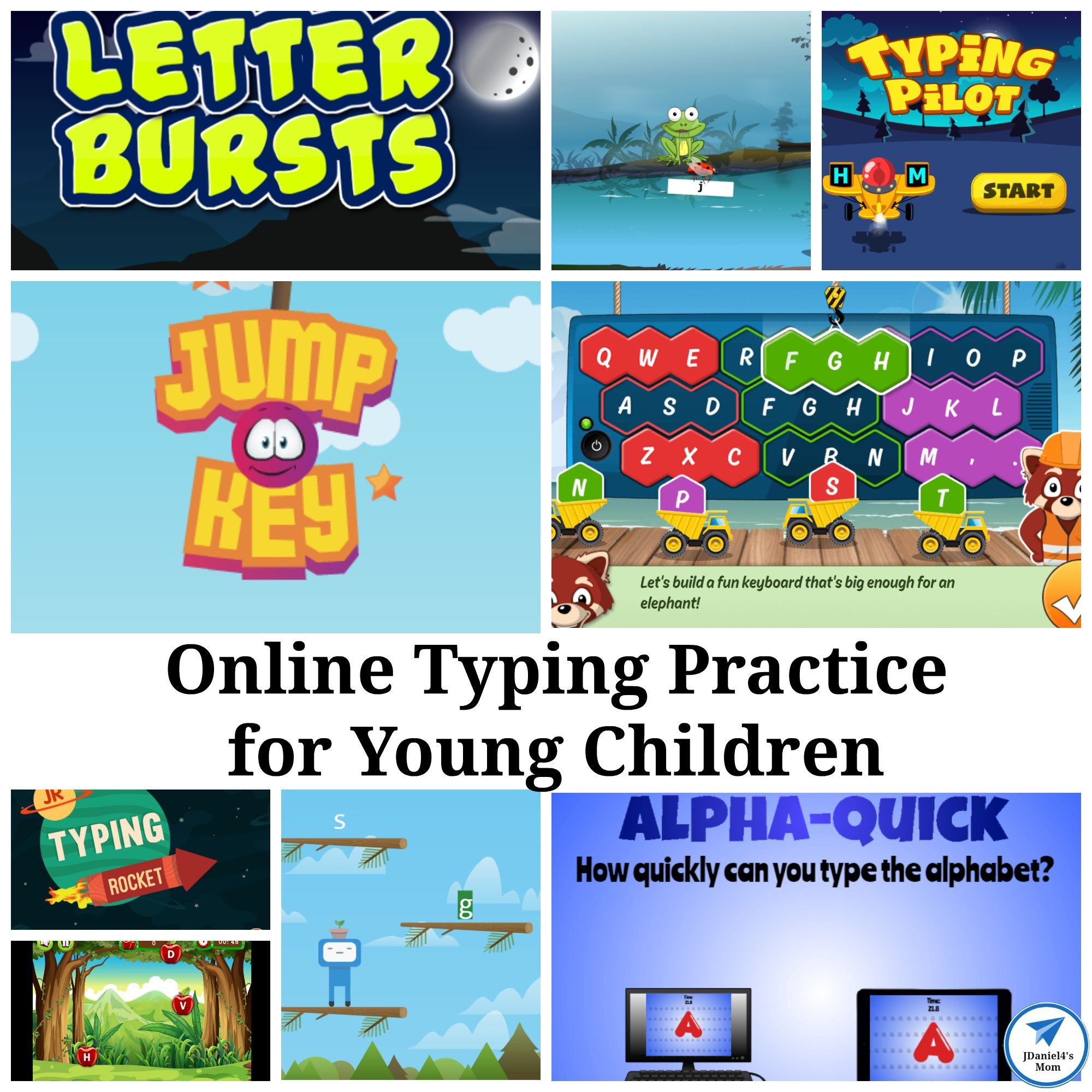 Online Typing Practice For Young Children