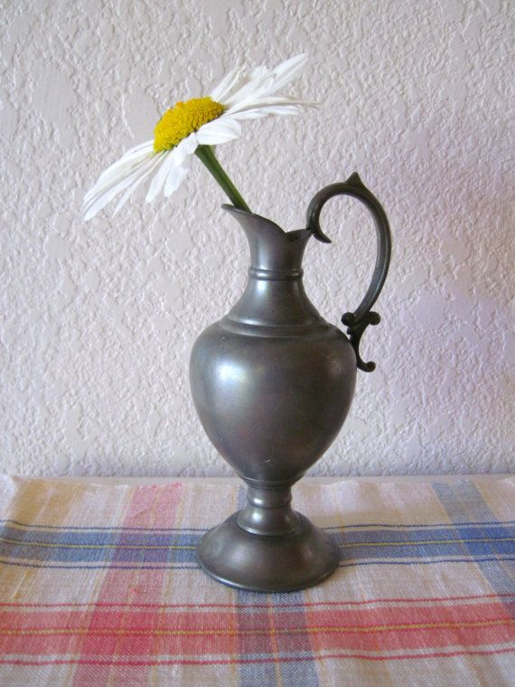 Vintage Pewter Vase Made In Holland Stuff I Like Pinterest