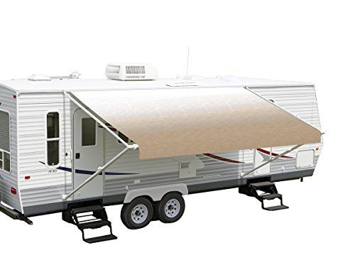 Rv Vinyl Awning Replacement Fabric Dune Fade 16 Click For Special Deals Rvaccessories Rv Awning Replacement Camper Awnings Awnings For Sale