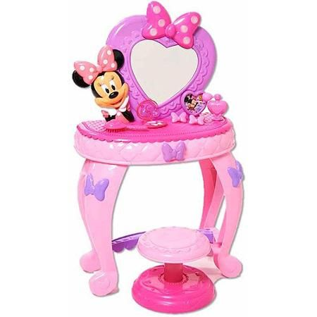 Minnie S Bow Tique Minnie Mouse Bowdazzling Vanity Walmart Com Minnie Mouse Vanity Minnie Mouse Hobby Toys