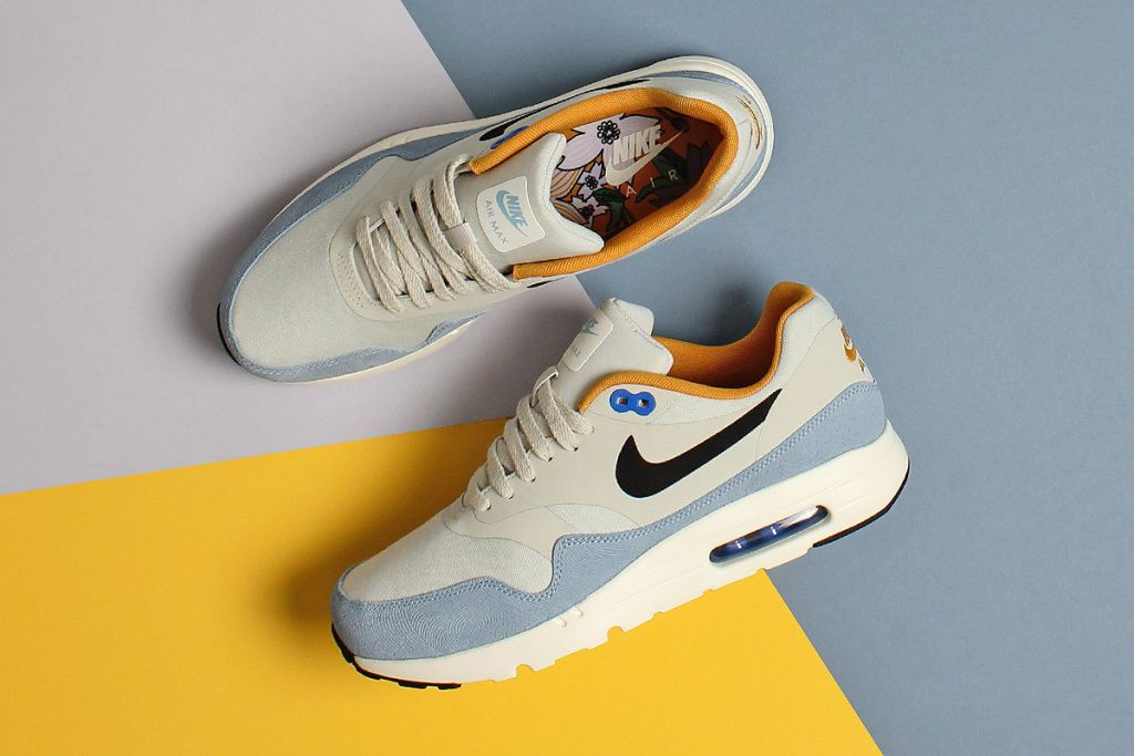 Nike Air Max 1 Ultra Essential Bluecap Sneaker Bar Detroit