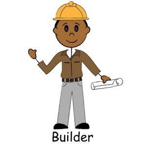 free cartoon workers wearing hats | Construction Hard Hat Clip Art ...