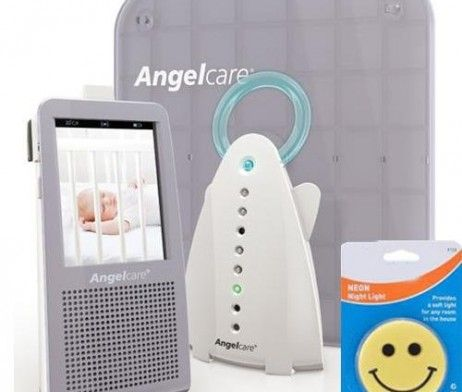 Angelcare Ac 1100 Video Baby Monitor Under The Mattress Movement Sensor Pad With Cord Kit Senses Each And Ever Video Monitor Baby Baby Monitor Baby Monitors